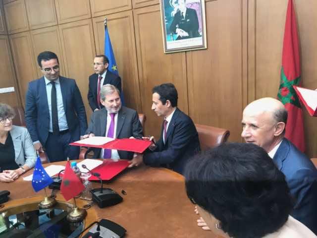 EU Gives Morocco's Social and Business Programs MAD 2.34 Billion