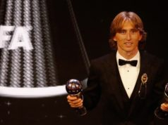 Luka Modric Wins FIFA's Best Men's Player Award