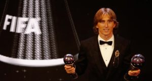 Luka Modric Wins FIFA's Best Men's Player Award