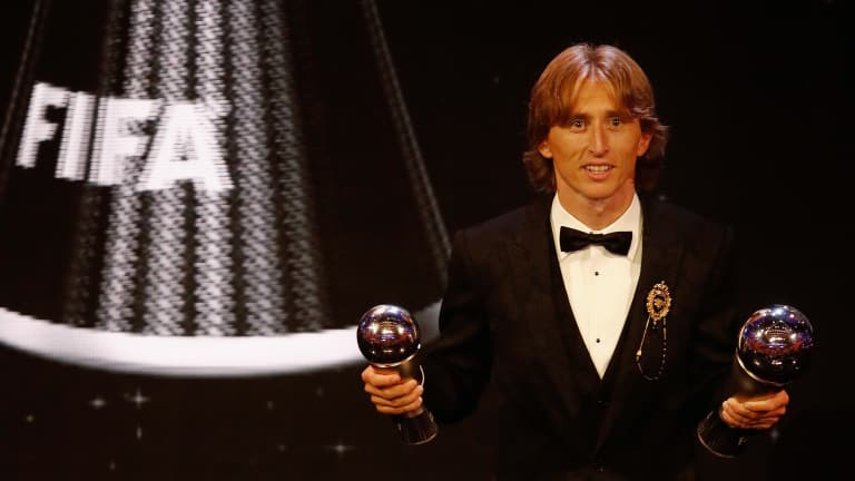 Luka Modric is World Footballer of the Year