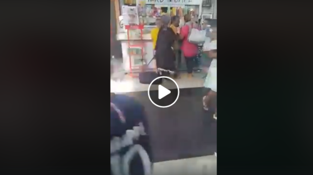 Video: Furious RAM Passengers Attack Airport Cafes Due to New Flight Delays