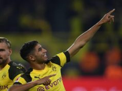 Morocco's Achraf Hakimi Scores Goal in First Game with Dortmund