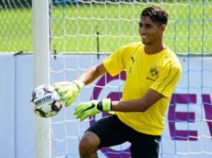 Dortmund Coach Happy with Morocco's Achraf Hakimi