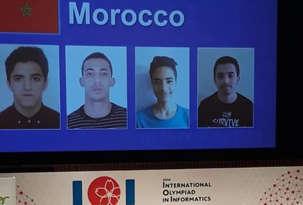 4 Moroccans Compete in International Olympiad in Informatics