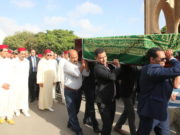 Prince Moulay Rachid Attends Mohammed Karim Lamrani's Funeral