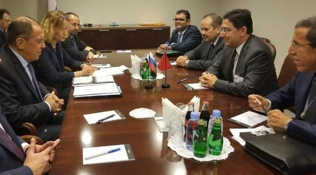 UN: Bourita Meets with Russia's Foreign Minister Sergey Lavrov