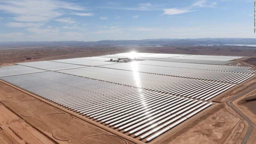 Noor solar project.