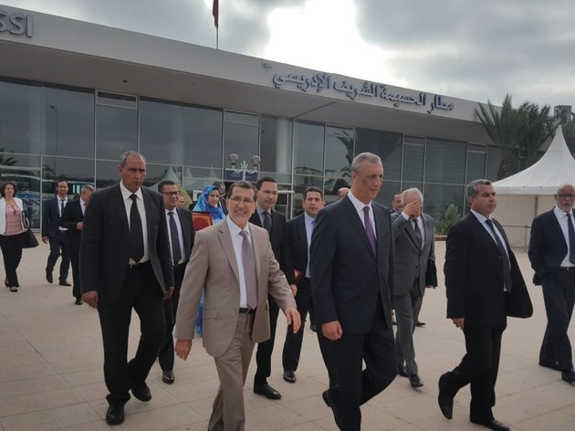El Othmani Assesses Progress of Al Hoceima Road Projects