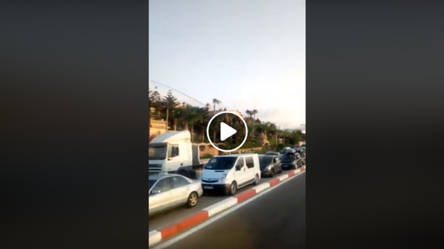 Video: Travelers at Tangier Med Port Stuck in Traffic for 24 Hours