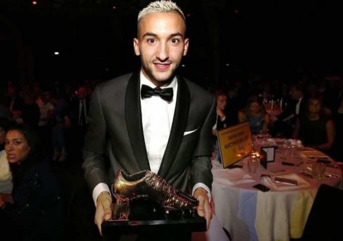 Dutch Media Award Morocco's Hakim Ziyech 'Best Player' in Netherlands