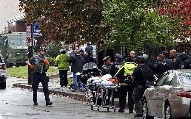 8 Dead at Pittsburgh Synagogue Shooting,