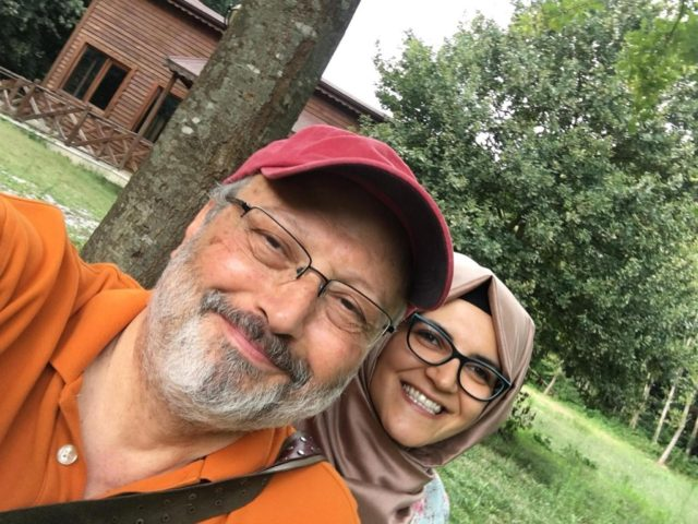 Jamal Khashoggi's Fiancee Demands EU Sanction Saudi Arabia