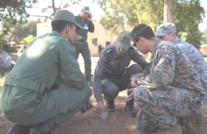 US Marines Train Moroccan Military to De-Mine