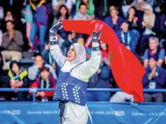 Morocco's Fatima Zahra Abou Fares Wins Gold Medal at Youth Olympics