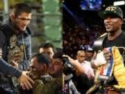 Boxing: Khabib Nurmagomedov Challenges Floyd Mayweather