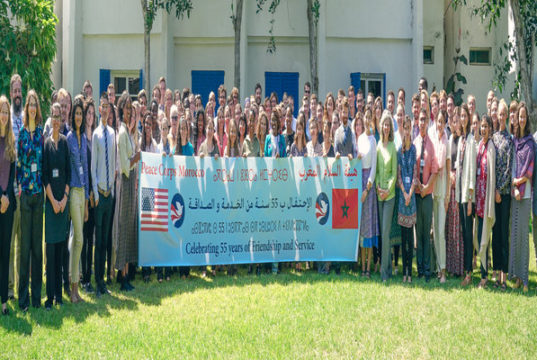 US Peace Corps Celebrates 55 Years in Morocco