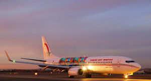 a Royal Air Maroc Plane