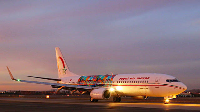 a Royal Air Maroc Plane