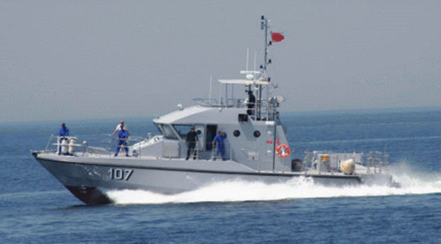 Royal Navy Stops Irregular Migrants off the Coast of Tangier