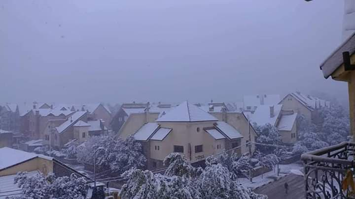 First Snowfall Blankets Ifrane with 30 Centimeters