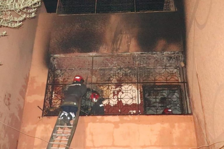 Fire at Marrakech University Dorm Kills Student, Injures Policeman