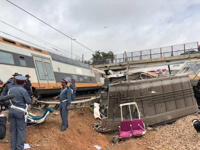 El Othmani Tweets Condolences for Victims of Bouknadel Train Accident