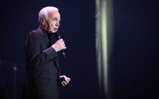 Iconic French Singer Charles Aznavour Dies at 94