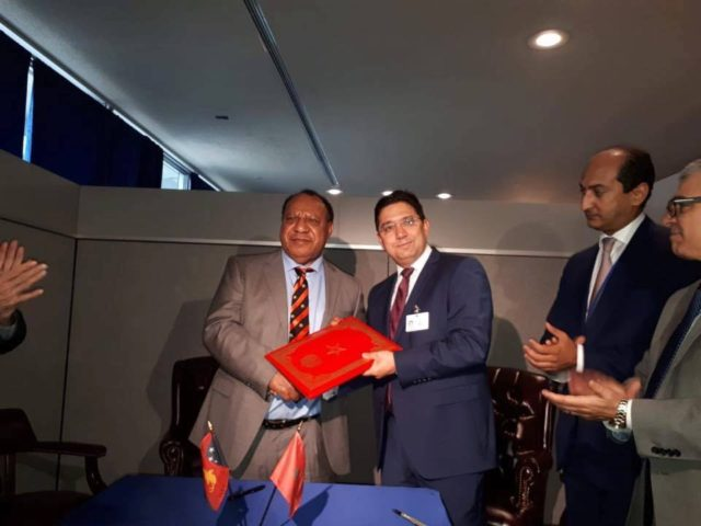 Morocco and Papua New Guinea to Forge Diplomatic Relations