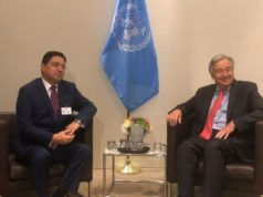 UN Chief Meets Bourita, Salutes Morocco's Support for UN Initiatives