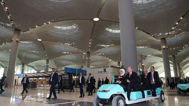 Erdogan Opens Istanbul Airport, Set to be World's Biggest
