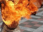 Mentally Disturbed Man Sets Himself on Fire in Rabat