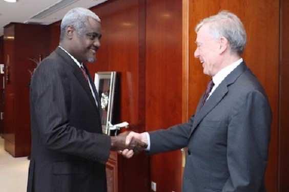 Kohler Meets AU Chairperson to 'Exchange Views' on Western Sahara
