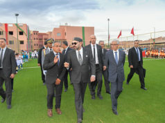 King Mohammed VI Inaugurates Pool, Football Fields in Marrakech