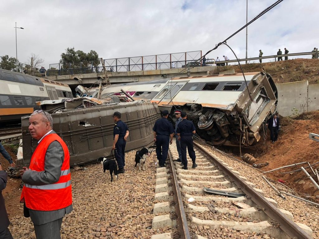 King Mohammed VI to Pay for Burials of Train Accident Victims