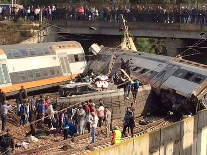 King Mohammed VI Sends Condolences to Families of Train Accident Victims
