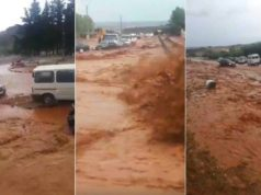 Video: Floods in Morocco Kill up To 5 People