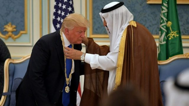 Trump: Saudi Arabia King Might Not Survive Without US Military Support