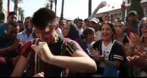 Video: Spanish Tourists Chant 'Viva Morocco' Outside Parliament