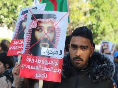 MBS Arrives in Mauritania amid Protests