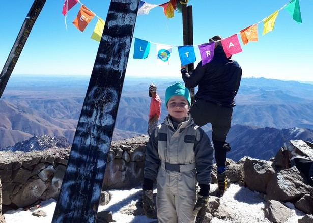 6-Year-Old Irish Boy Climbs Morocco's Toubkal, North Africa's Highest Peak