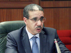 Morocco's Minister of Energy and Sustainable Development Aziz Rebbah.