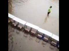 Video: Heavy Rain Floods Streets, buildings in Morocco's Laayoune