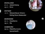 German Pop Band Helgen to Perform in Casablanca and Fez