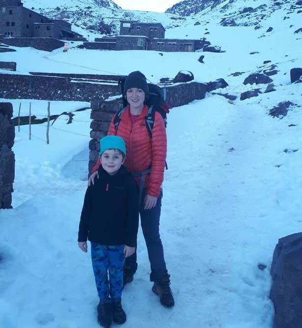 Joshua Davison with mum Lyndsey