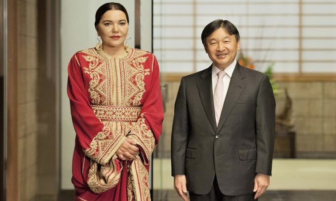 Morocco's Princess Lalla Hasna Receives Japanese Honorary Doctorate