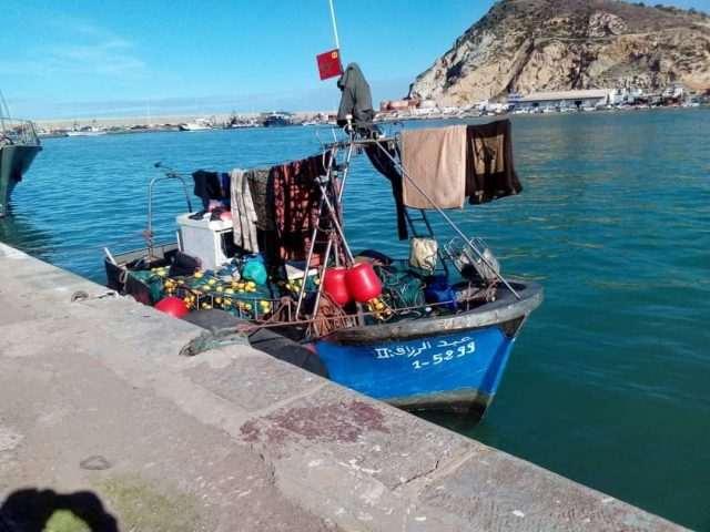Long-Stranded Moroccan Fishermen Call for Help in Algerian Waters