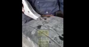Video: Moroccan Mechanic Adds Grooves in Old Tires to Make Them Look New