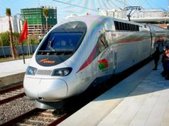 Morocco LGV High Speed Train Inside Photos