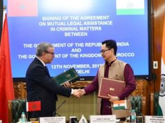 Morocco and India Sign Extradition Agreement for 'Fugitive Offenders'