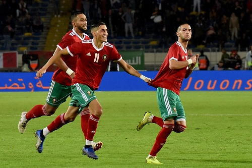 Morocco's Atlas Lions Climb 7 Places in November FIFA Ranking